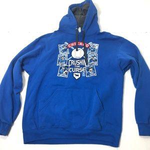 Men's Size Large Chicago Cubs Sweatshirt Hoodie